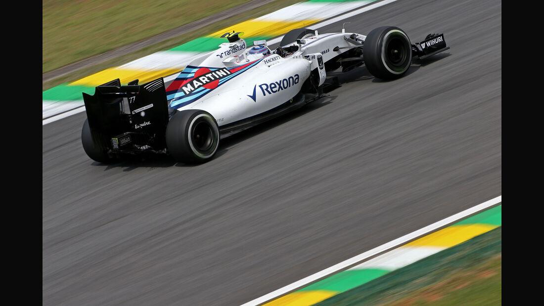 Valtteri Bottas - Williams - GP Brasilien - Interlagos - Freitag - 11.11.2016