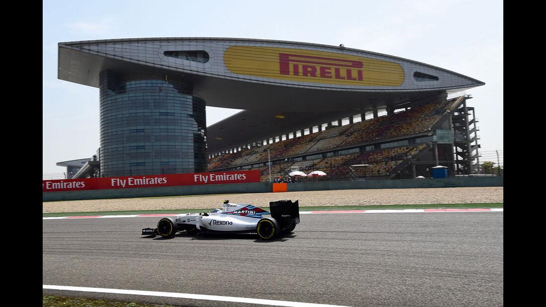Valtteri Bottas - Williams - GP China - Shanghai - Freitag - 15.04.2016