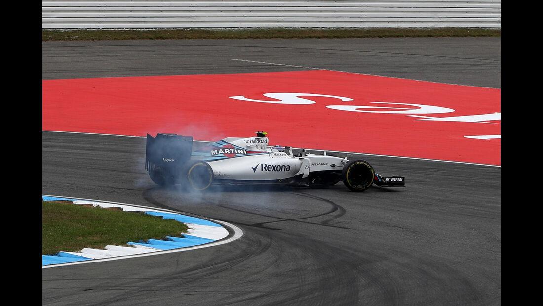 Valtteri Bottas - Williams - GP Deutschland - Formel 1 - 29. Juli 2016