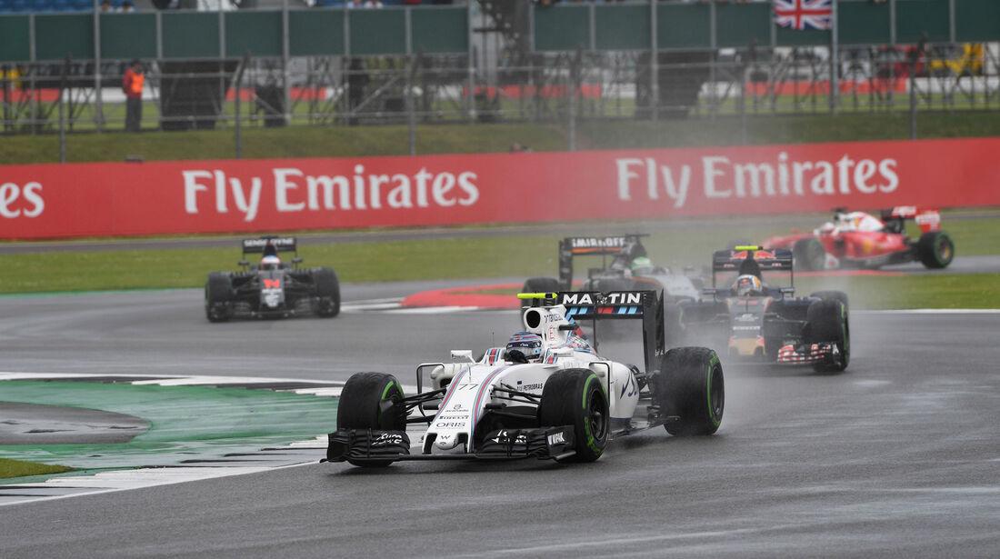 Valtteri Bottas - Williams - GP England 2016 - Silverstone - Rennen