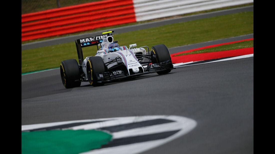 Valtteri Bottas - Williams - GP England - Silverstone - Formel 1 - Freitag - 8.7.2016