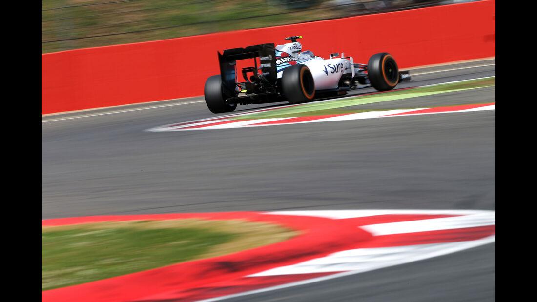 Valtteri Bottas - Williams - GP England - Silverstone - Qualifying - Samstag - 4.7.2015