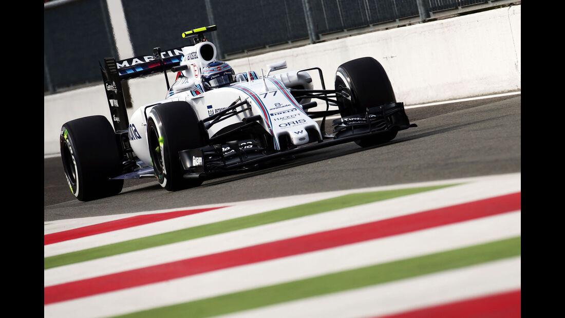 Valtteri Bottas - Williams - GP Italien - Monza - Freitag - 4.9.2015