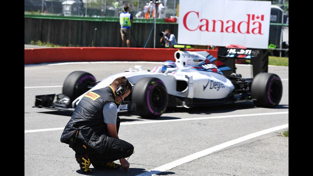 Valtteri Bottas - Williams - GP Kanada - Montreal - Freitag - 10.6.2016