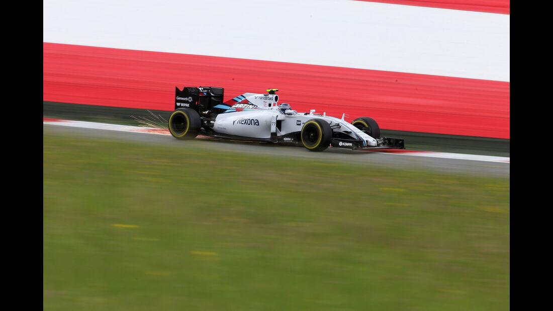 Valtteri Bottas - Williams - GP Österreich - Formel 1 - Freitag - 19.6.2015