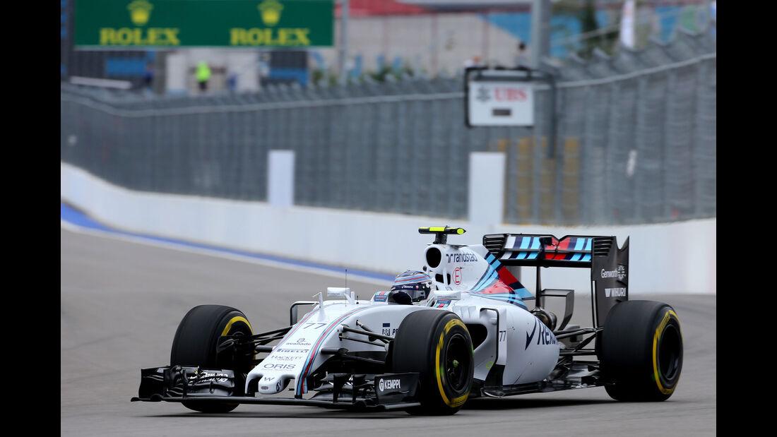 Valtteri Bottas - Williams - GP Russland - Sochi - Freitag - 9.10.2015