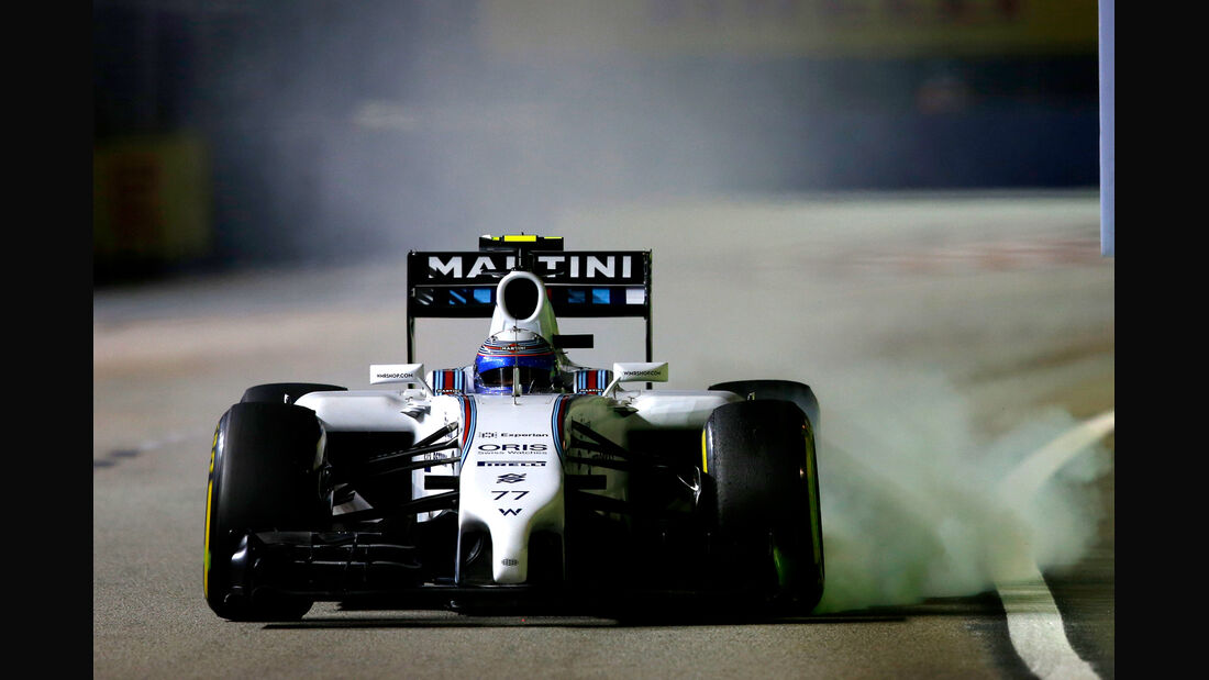Valtteri Bottas - Williams - GP Singapur 2014