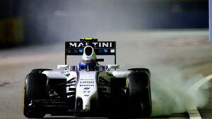 Valtteri Bottas - Williams - GP Singapur 2014
