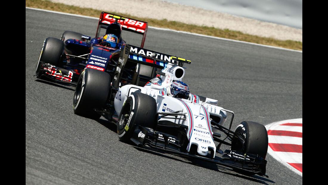 Valtteri Bottas - Williams - GP Spanien 2015 - Rennen - Sonntag - 10.5.2015