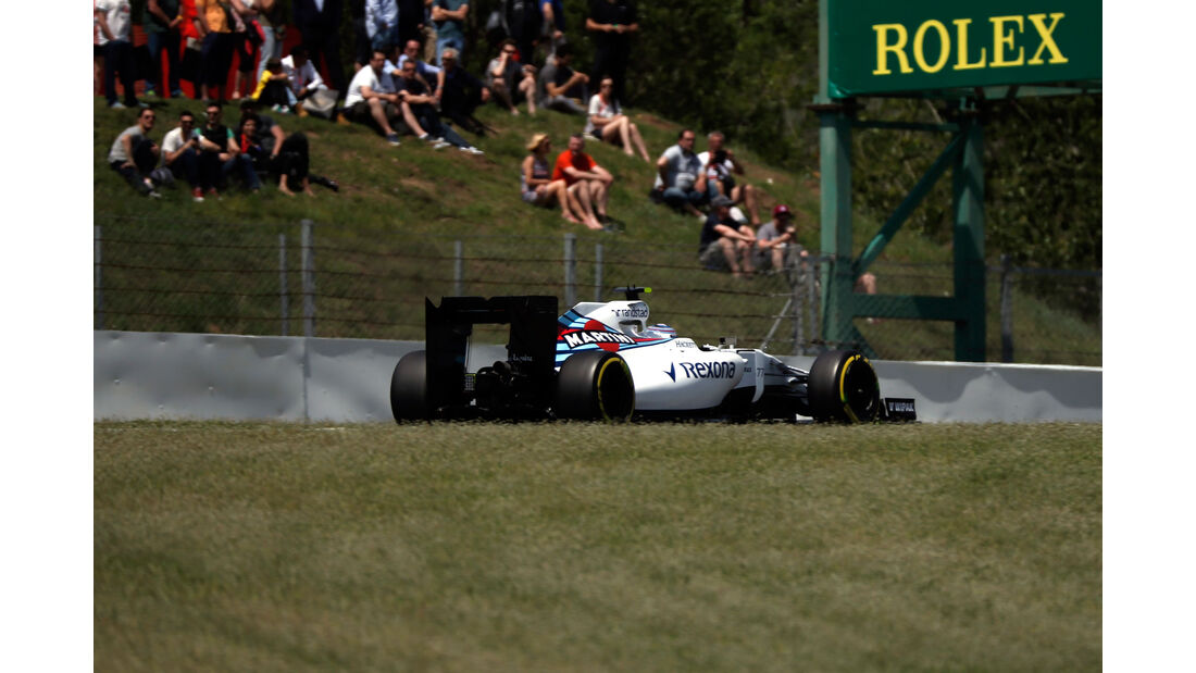 Valtteri Bottas - Williams - GP Spanien 2016 - Qualifying - Samstag - 14.5.2016