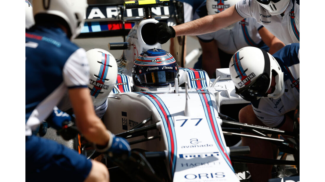 Valtteri Bottas - Williams - GP Spanien - Qualifying - Samstag - 9.5.2015