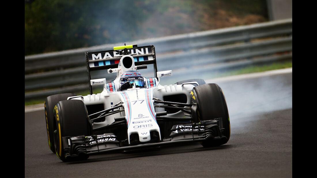 Valtteri Bottas - Williams - GP Ungarn - Budapest - Formel 1 - 22. Juli 2016