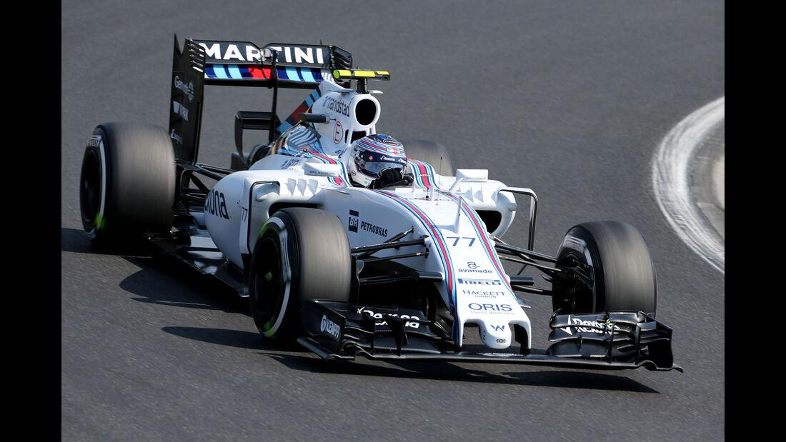 Valtteri Bottas - Williams - GP Ungarn - Budapest - Freitag - 24.7.2015
