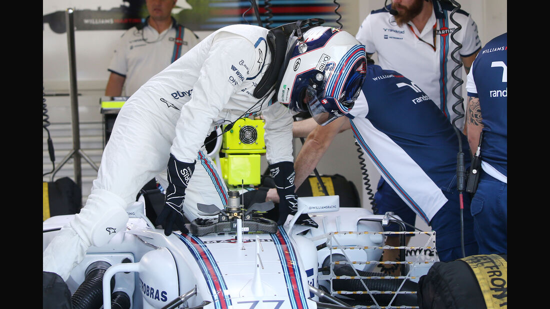 Valtteri Bottas - Williams - GP Ungarn - Budapest - Freitag - 24.7.2015