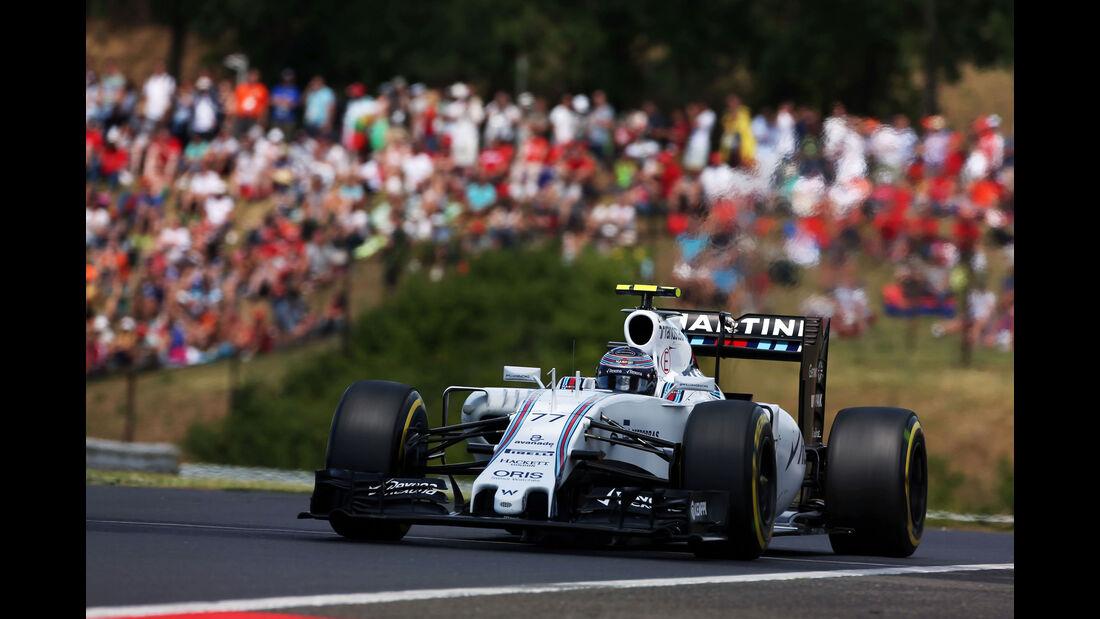 Valtteri Bottas - Williams - GP Ungarn - Budapest - Rennen - Sonntag - 26.7.2015
