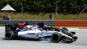 Valtteri Bottas - Williams - Max Verstappen - Toro Rosso - GP Malaysia 2015 - Formel 1