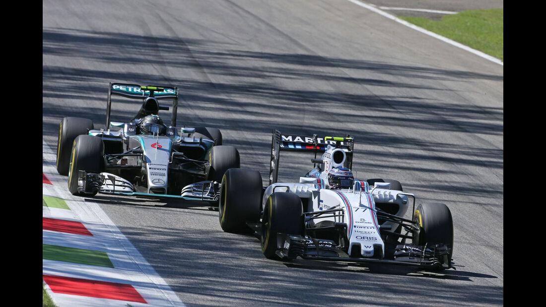 Valtteri Bottas - Williams - Nico Rosberg - Mercedes GP Italien 2015 - Monza