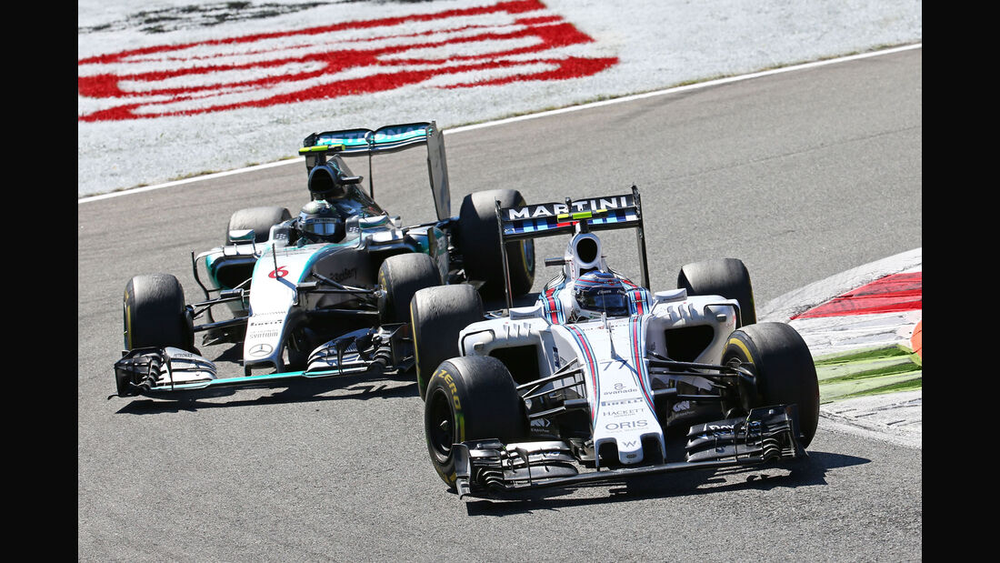 Valtteri Bottas - Williams - Nico Rosberg - Mercedes GP Italien 2015 - Monza