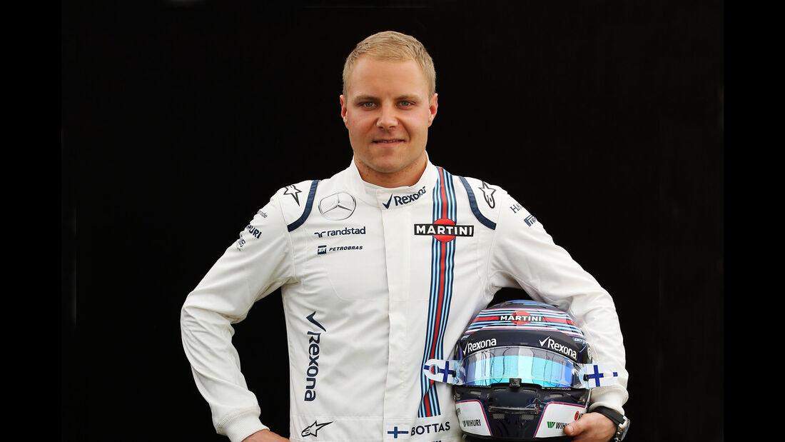 Valtteri Bottas - Williams - Porträt - Formel 1 - 2016