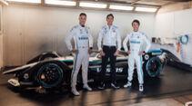 Vandoorne - James - de Vries - Mercedes-Benz EQ Silver Arrow 02 - Formel E