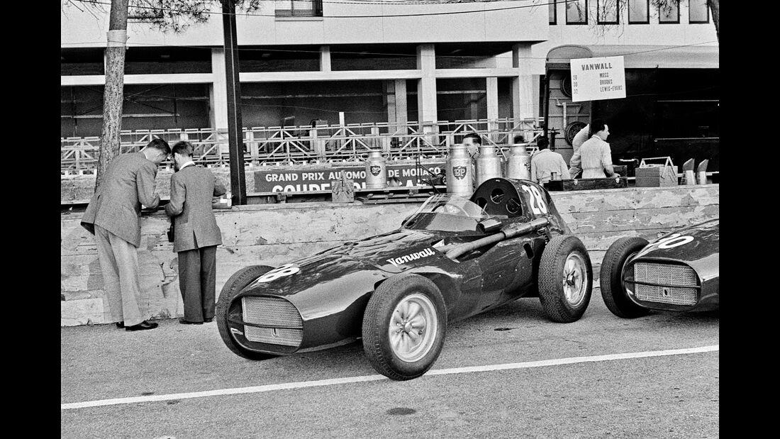 Vanwall VW 5 - GP Monaco 1958