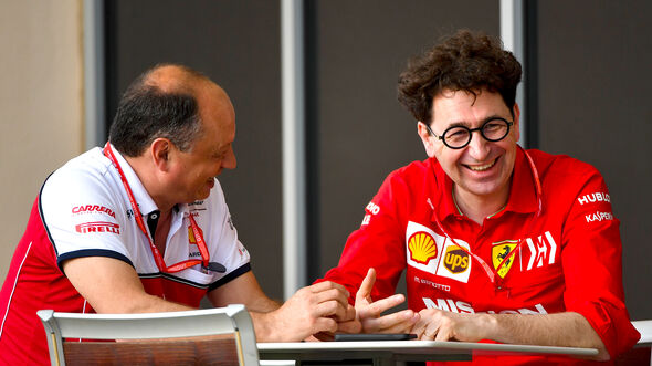 Vasseur & Binotto - GP Bahrain 2019