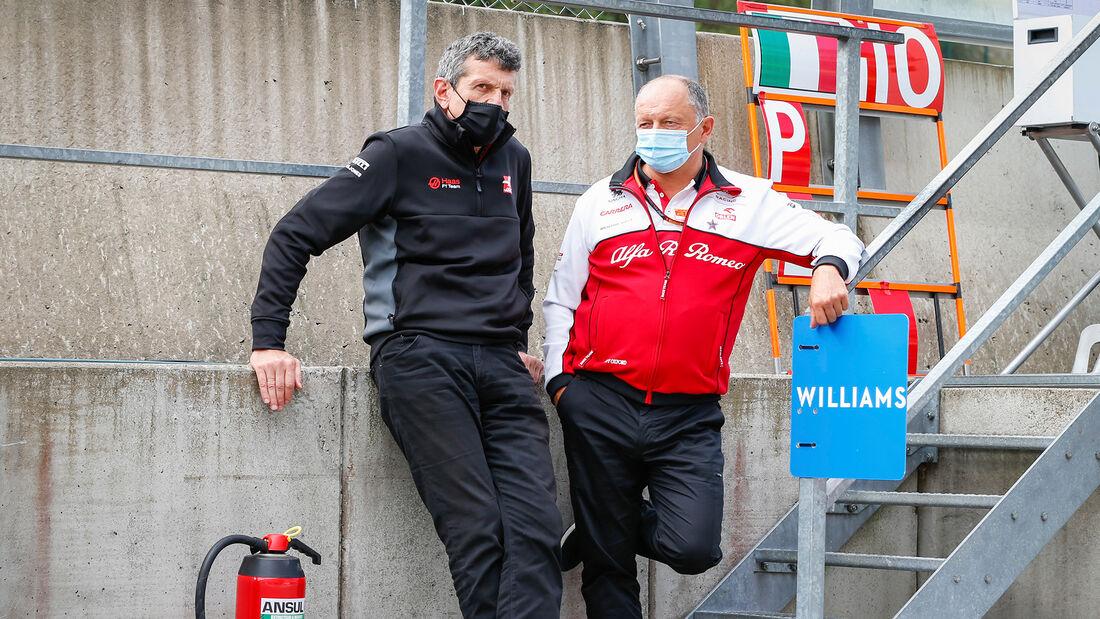 Vasseur & Steiner - GP Belgien 2020