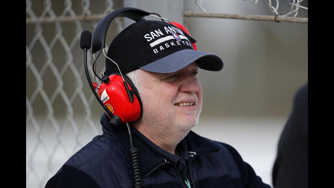 Vater Norbert Vettel - Formel 1 - Test - Barcelona - 2. März 2016