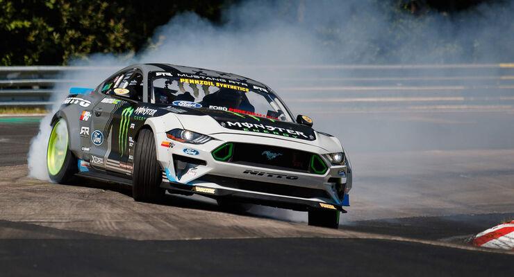 Vaughn Gittin Jr. - Ford Mustang - Drift - Nordschleife - 2018