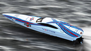 Vector Martini Racing Yacht