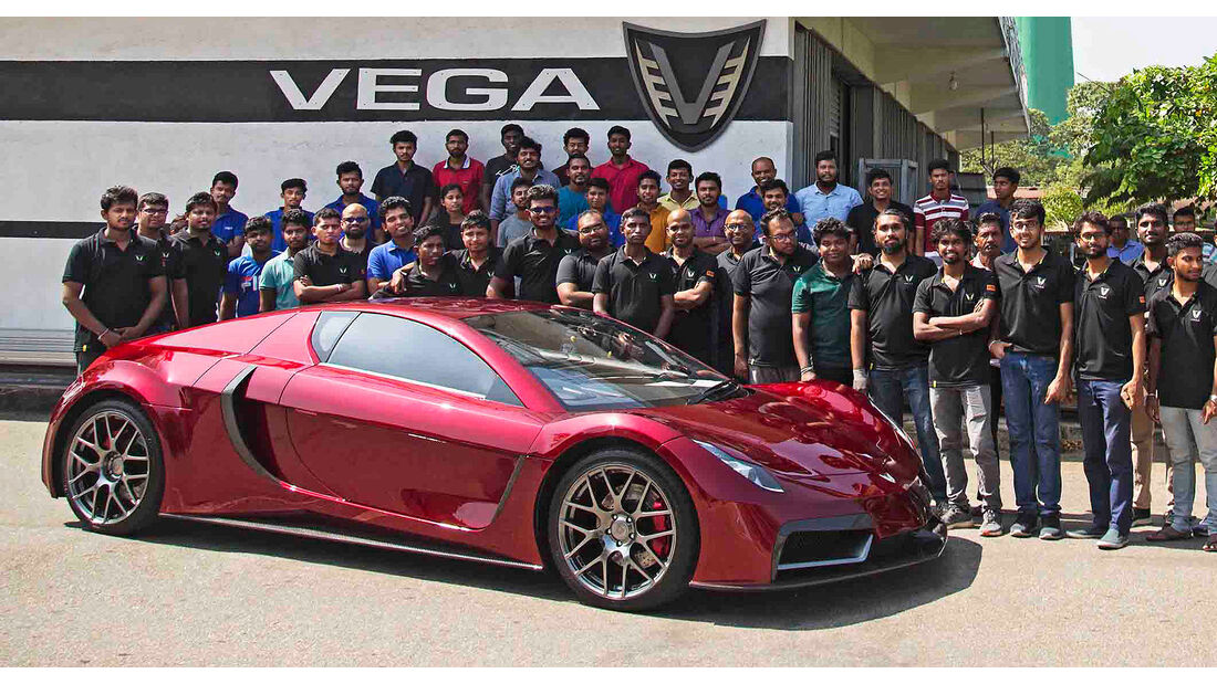 Vega EVX Elektrosportwagen