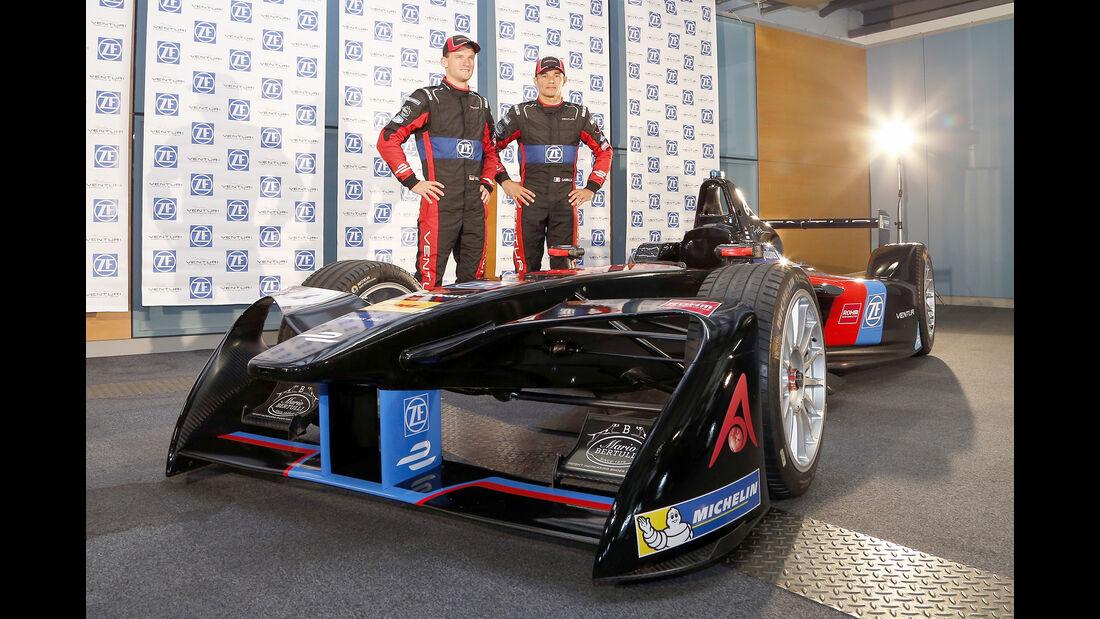 Venturi - Formel E Test - Donington - 2016