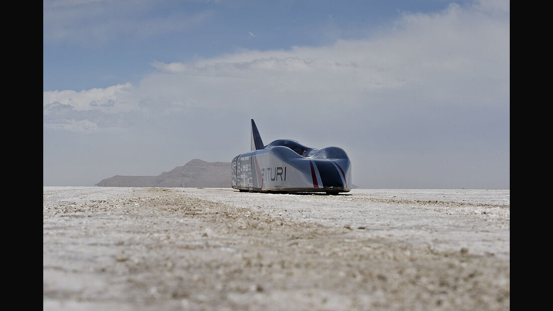 Venturi Jamais Contente, E-Auto, Geschwindigkeits Weltrekord, Bonneville-Wüste