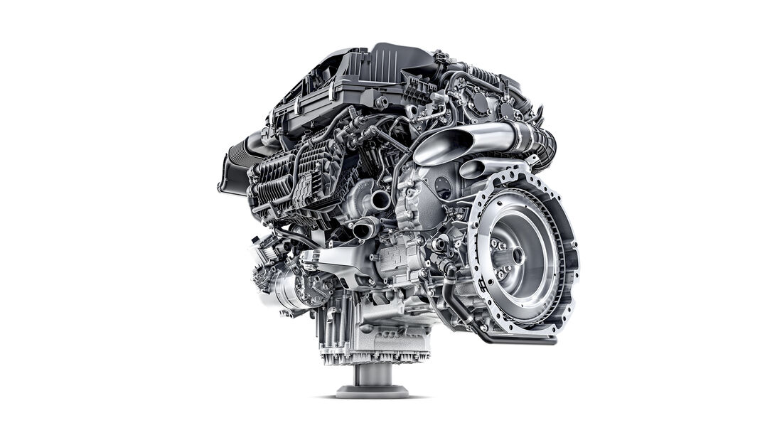 Verbrennungsmotoren, Mercedes