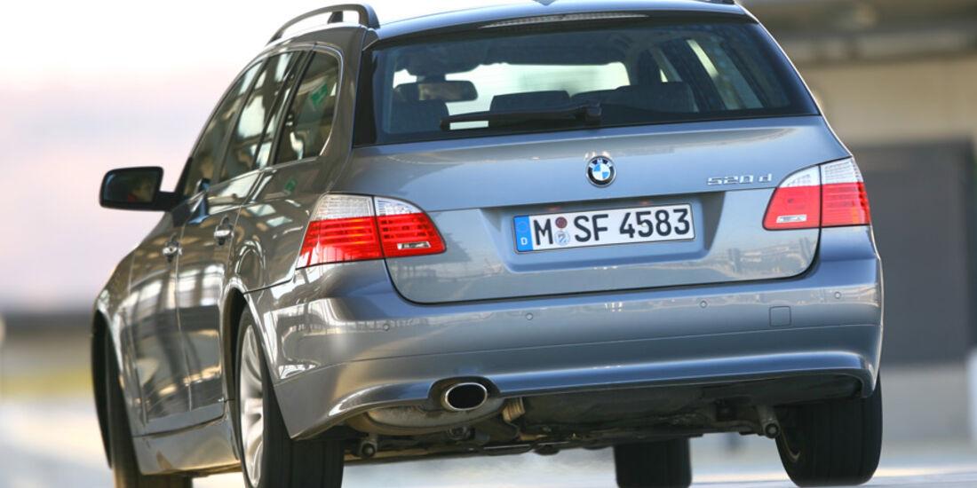 Vergleich Antriebskonzepte BMW 520d
