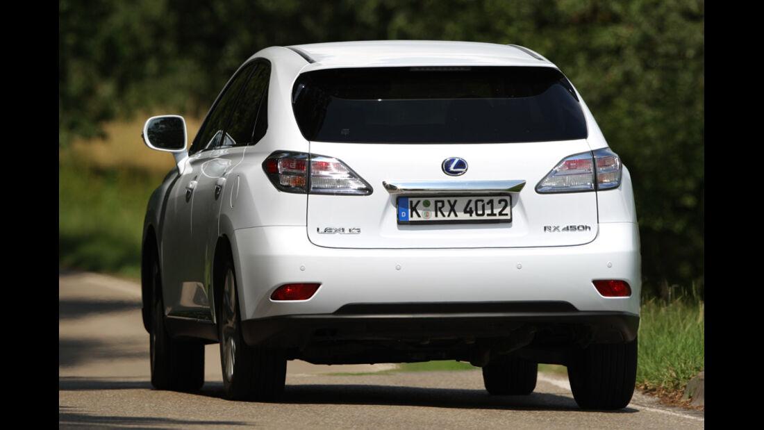 Vergleich Antriebskonzepte Lexus RX 450h