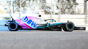 Vergleich Racing Point RP20 vs. Mercedes W10 - F1 2020