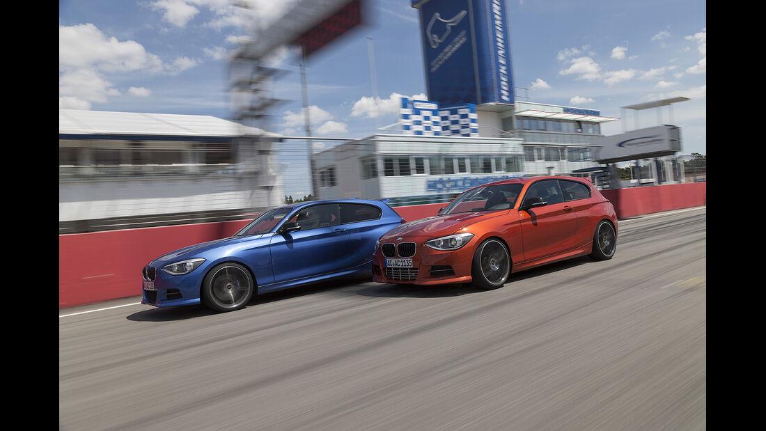 Vergleichstest AC Schnitzer BMW M135i, Allrad, Hinterradantrieb, spa 04/2014, Heftvorschau