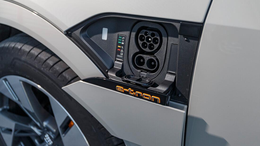 Vergleichstest, Audi e-tron, ams0819