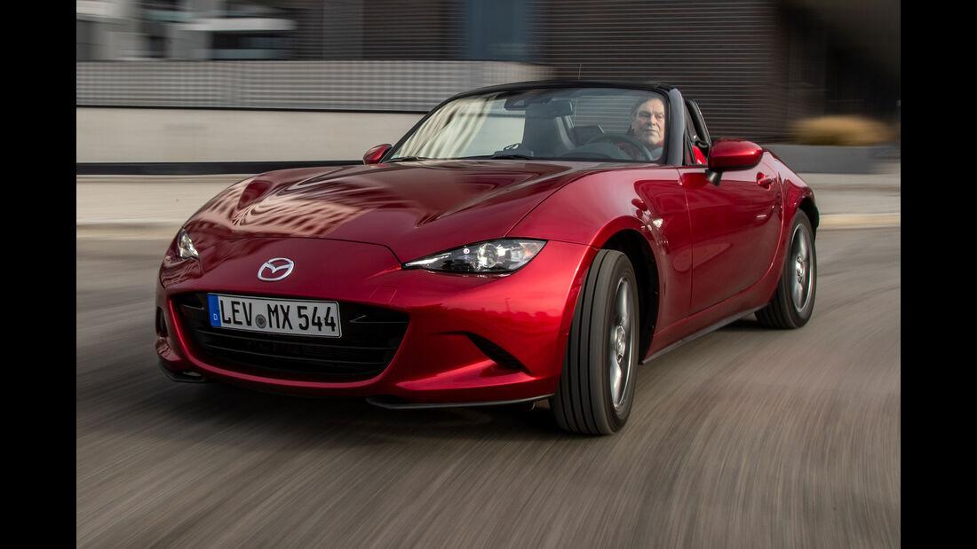 Vergleichstest, Mazda MX-5 G 132, Suzuki Swift Sport, spa03/2019