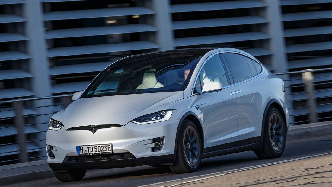 Vergleichstest, Tesla Model X, ams0819