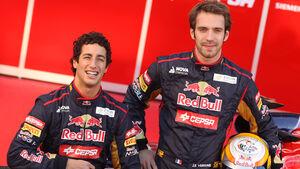 Vergne Ricciardo Toro Rosso 2012