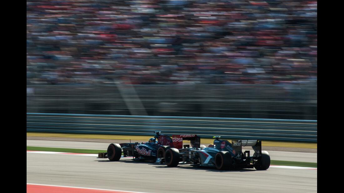 Vergne vs. Gutierrez - GP USA 2013