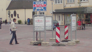 Verkehrsberuhigung Shared Space