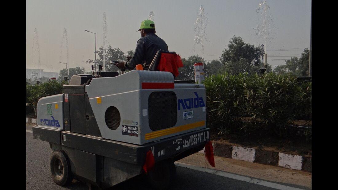 Verkehrschaos Indien - Formel 1 - GP Indien - 26. Oktober 2012