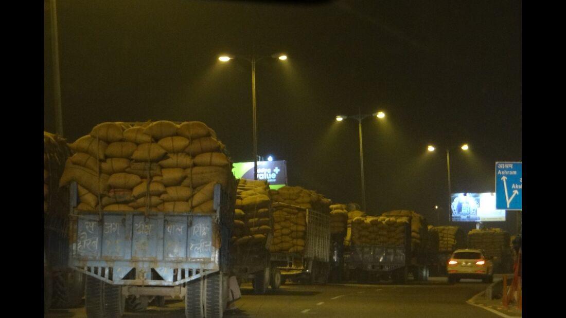 Verkehrschaos Indien GP