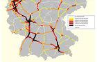 Verkehrszählung Autobahn 2011 Süd