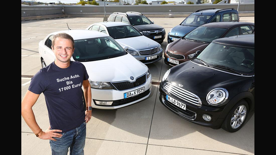 Verschiedene Autos, Michael von Maydell