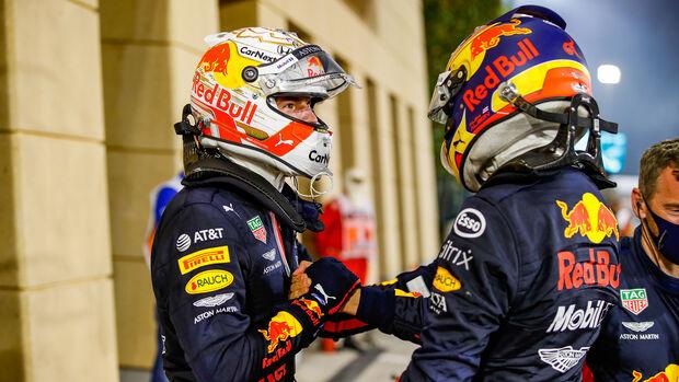 Verstappen - Albon - GP Bahrain 2020 - Sakhir - Rennen