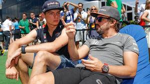 Verstappen & Alonso - GP Ungarn 2019